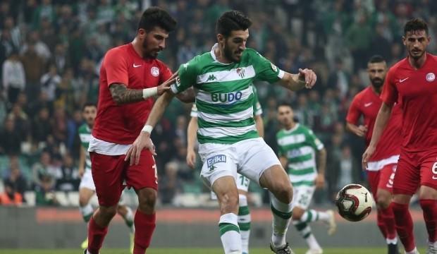 Bursaspor 3 puanı tek golle aldı