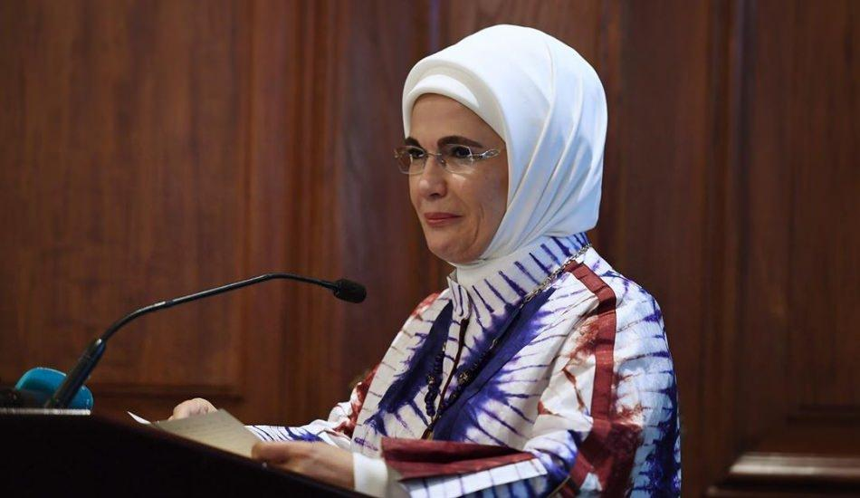 Emine Erdoğan, 'Kadına Yönelik Şiddete Karşı Uluslararası Mücadele Günü'nde konuşacak
