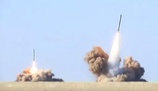 Rusya test atışlarına başladı