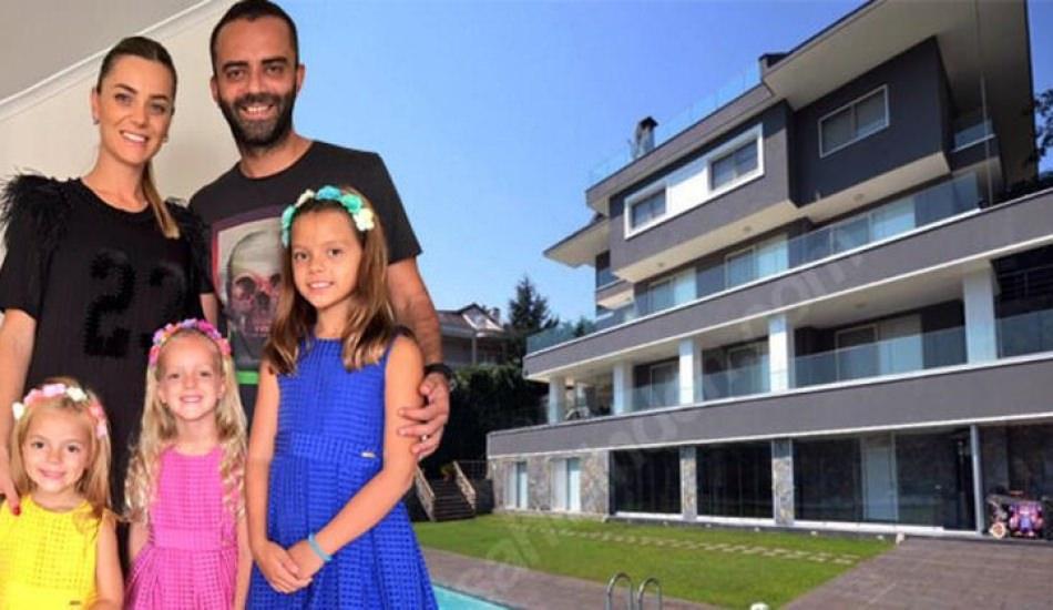 Semih Şentürk ile Pınar Şentürk'ün villasına ziyaretçi akını