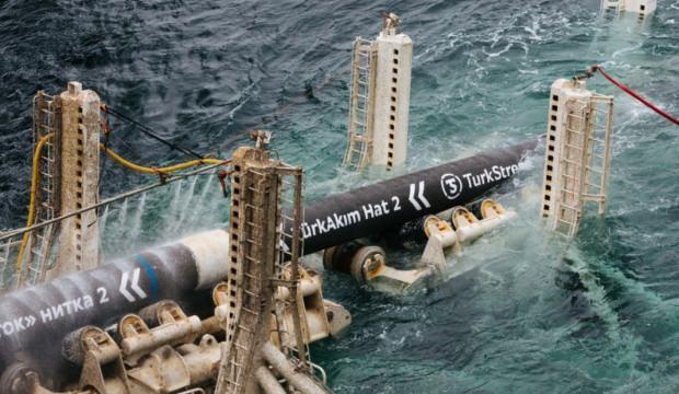 Türk Akımı boru hattına gaz verilmeye başlandı!