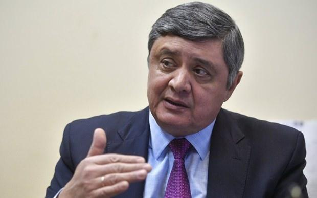 Rusya Dışişleri Bakanlığı İkinci Asya Dairesi Başkanı Zamir Kabulov...