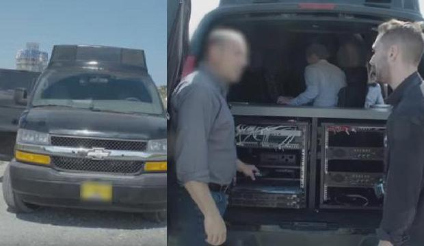 Van tipi araçlı İsrail casusu! Kıbrıs fena karıştı