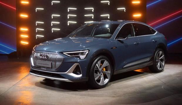 Amerika'da sahneye çıktı! İşte Audi E-Tron Sportback