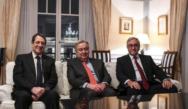Kıbrıs görüşmelerinde federasyon vurgusu: Treni rayına yerleştirdik