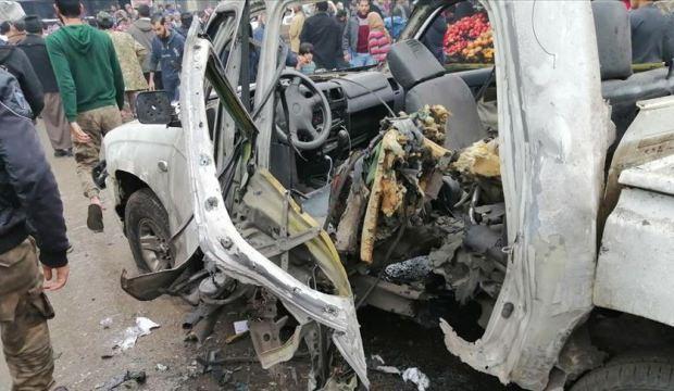 Cerablus'ta bombalı saldırı: Yaralılar var