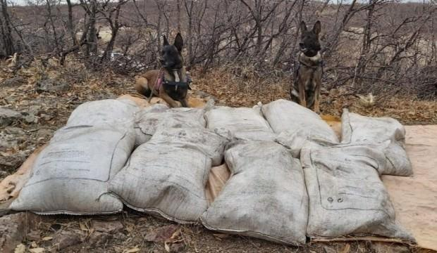 PKK'ya büyük darbe! Tam 450 kilo...
