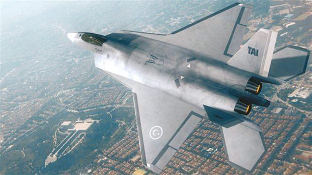 Beşinci nesil jet avcı uçağı TAI TF-X