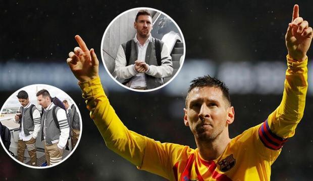 Barcelonalı futbolcuların kıyafeti alay konusu oldu
