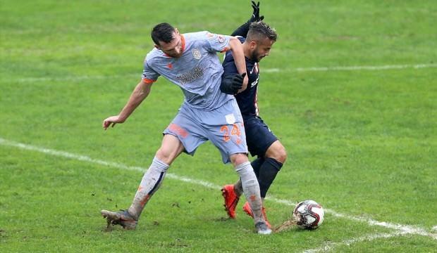 Başakşehir Trabzon'da avantajı kaptı