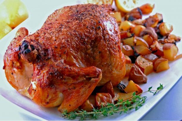 bütün tavuk