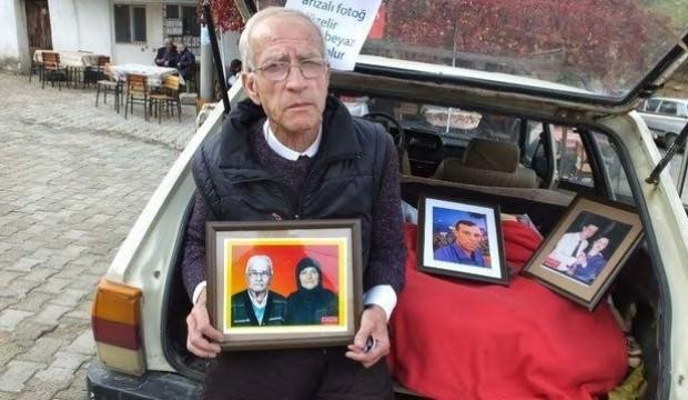 Ayhan dede eski fotoğraflara hayat veriyor