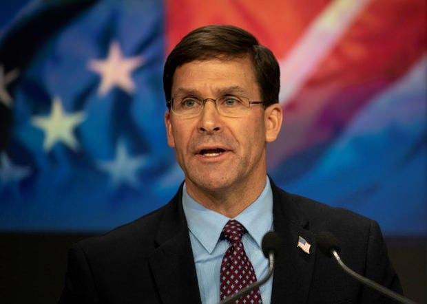ABD Savunma Bakanı Mark Esper...
