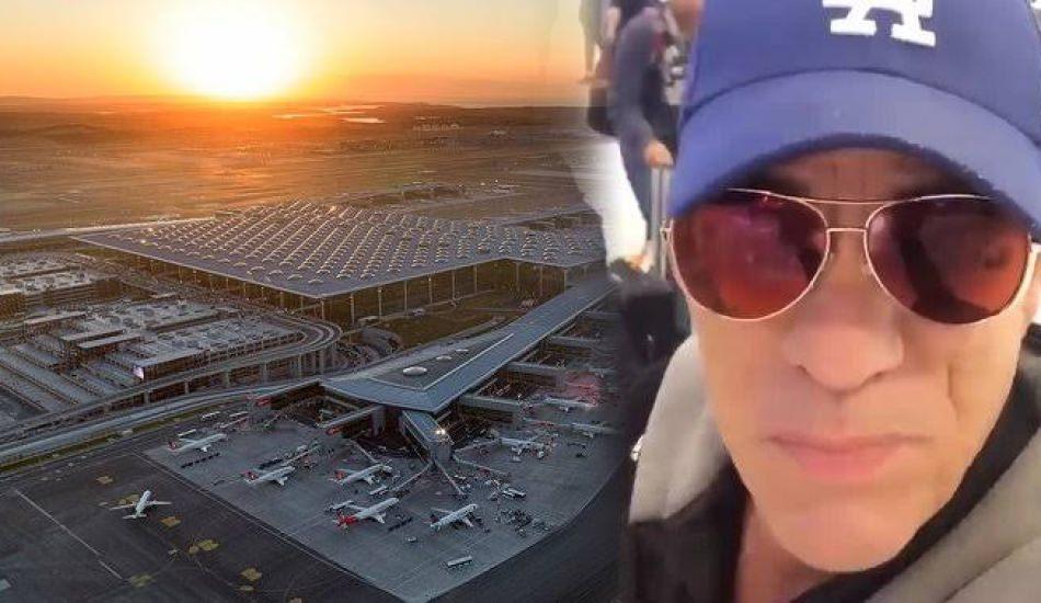 Dünyaca ünlü aktör Robert Davi'den İstanbul Havalimanı'na övgüler