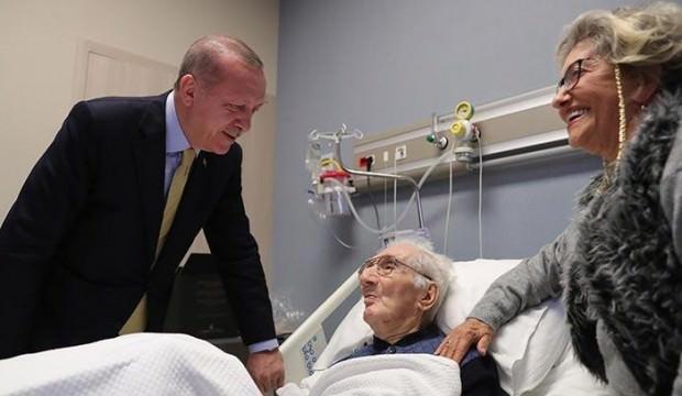 Recep Tayyip Erdoğan Koç Üniversitesi Hastanesi'ne gitti. ile ilgili görsel sonucu