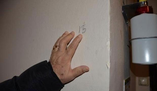 Evlerin duvarlarına yazılan yazının sırrı ortaya çıktı