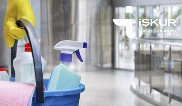 İŞKUR kapsamında en az ilköğretim mezunu temizlik görevlisi alımı sona eriyor!