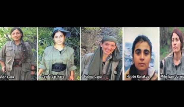 Kadın teröristlerin son konuşmaları! 'Her yerde asker var, ölüyoruz'