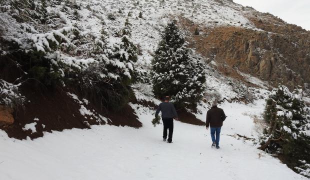 Munzur'da kış bir başka güzel