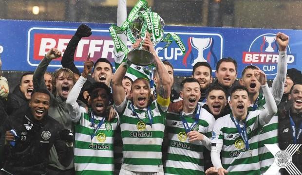 Rangers'ı deviren Celtic kupaya uzandı!