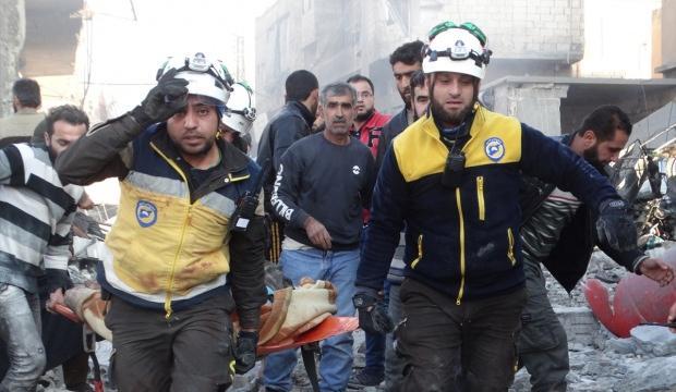 Rusya ve Esed rejimi sivillere saldırdı! Çok sayıda ölü var