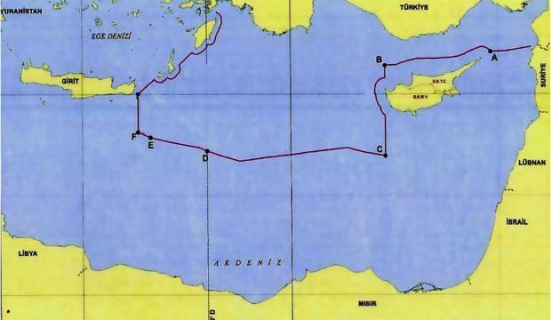 Sınırları değiştiren yeni harita! Türkiye tarihi anı dünyaya yayınladı