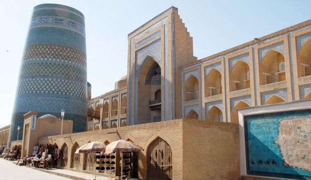 Türk dünyası 2020 Kültür Başkenti Hive'nin tarihi camileri
