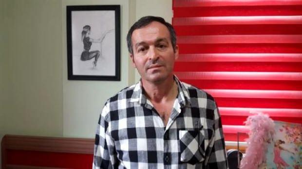 Ceren Özdemir'in babası.