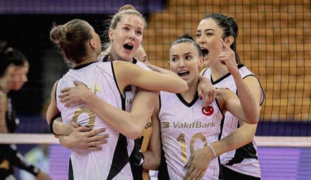 VakıfBank dev turnuvaya galibiyetle başladı