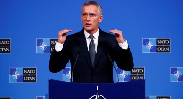 NATO Genel Sekreteri Jens Stoltenberg....