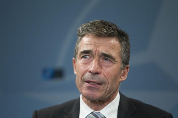 NATO eski Genel Sekreteri Anders Fogh Rasmussen....