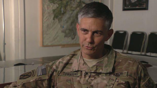 AFRICOM Komutanı General Stephen Townsend...