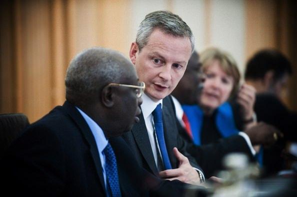 Fransa Maliye Bakanı Bruno Le Marie