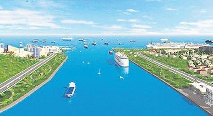 Kanal İstanbul dev bir hendek olacak ve İstanbul'un savunmasına katkı sağlayacak