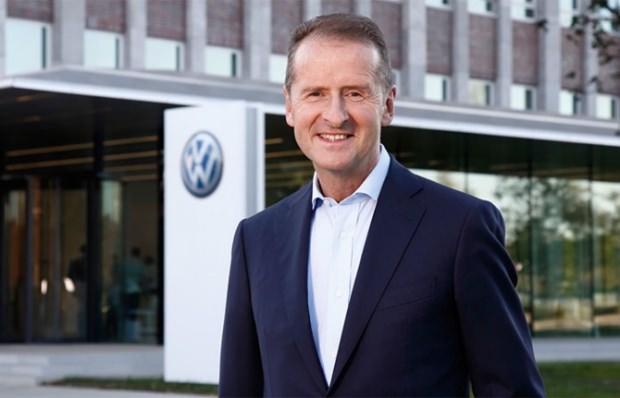 Volkswagen CEO'su Herbert Diess