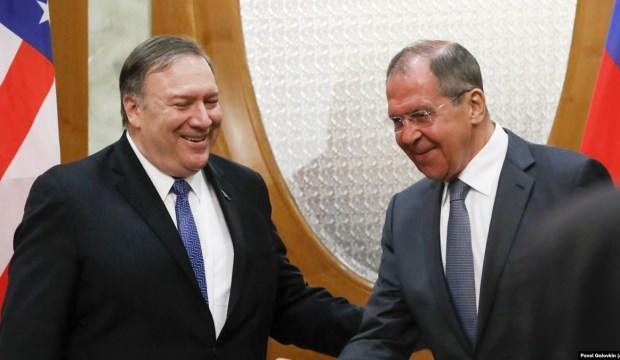 Ruslar ilişkileri düzeltmek istiyor! Pompeo ve Lavrov ABD'de görüştü