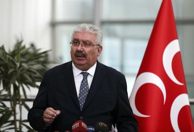 MHP Genel Başkan Yardımcısı Semih Yalçın.