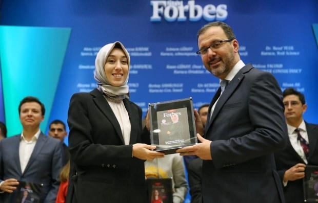 Gençlik ve Spor Bakanı Dr. Mehmet Muharrem Kasapoğlu ve Milletvekili Rümeysa Kadak
