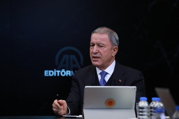 Son dakika haberi: Bakan Akar, AA Editör Masası'nda gündeme ilişkin önemli açıklamalarda bulundu.