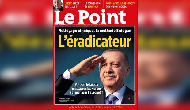 Başkan Erdoğan'ın suç duyurusunda bulunduğu dergiye Fransa'dan ödül!