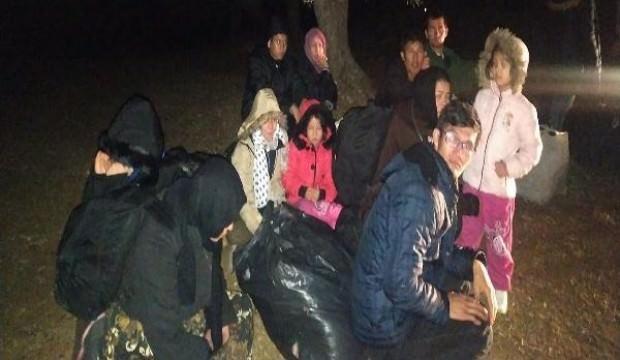 Çanakkale'de 305 göçmen yakalandı, 2 kişi tutuklandı
