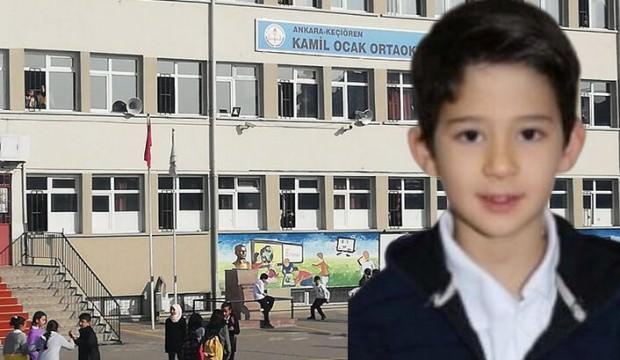 Okulda fenalaşan Mert hayatını kaybetti