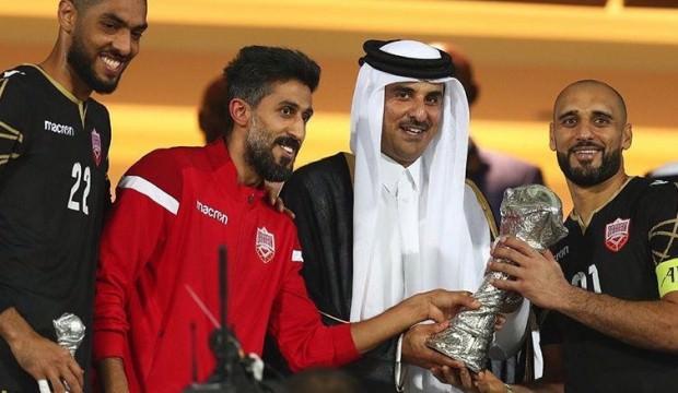 Katar ve Kuveyt'ten Körfez Ulusları Kupası şampiyonu Bahreyn'e tebrik