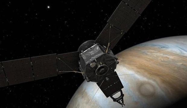 NASA, Jüpiter'de kasırga keşfetti!
