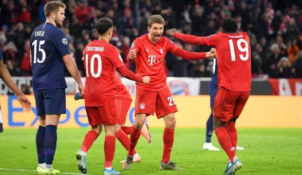 Tottenham'ı deviren Bayern 6'da 6 ile turladı