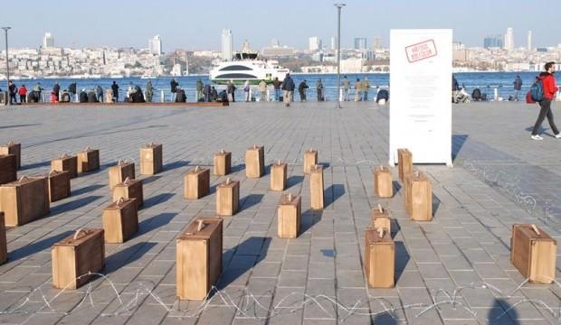 Üsküdar'da 10 Aralık Dünya İnsan Hakları Günü farkındalık etkinliği