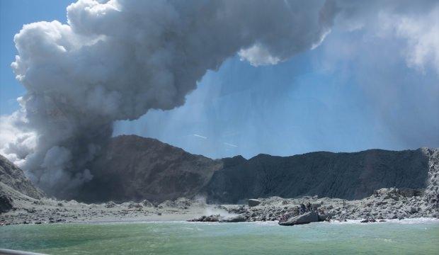 Yeni Zelanda'da yaşanan yanardağ patlamasında ölü sayısı artıyor