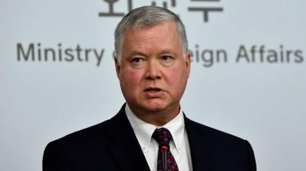 ABD'nin Kuzey Kore Özel Temsilcisi Stephen Biegun....