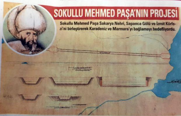 Sokullu Mehmed Paşa'nın projesi