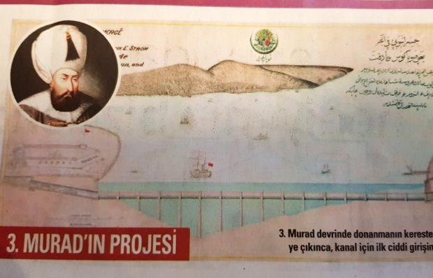 3. Murad'ın Kanal projesi
